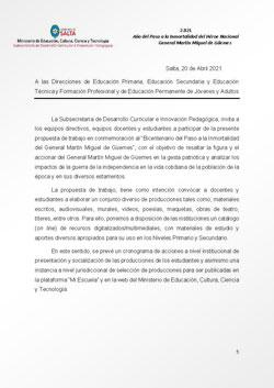 Propuestas de trabajo - Catálogo Referencias Digitales Güemes (SPE-210420)