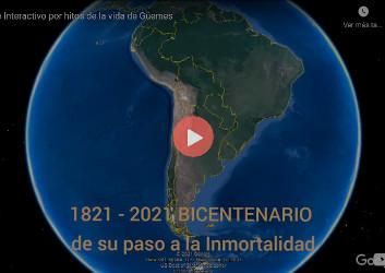 Viaje interactivo por hitos de la vida de Güemes