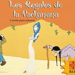 Cuento para colorear: Los Regalos de la Pachamama