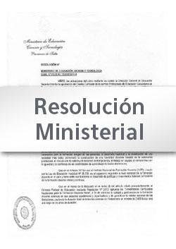Res. Min Nº 022-20