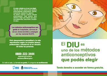 El DIU es uno de los métodos anticonceptivos que podés elegir