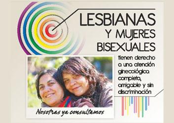 Salud de mujeres lesbianas y bisexuales