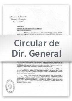 Circular N° 01 DGEP (2017)