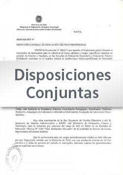 Disposición Nº 066 DGEP-EI-DGES (Anexo II y Anexo III)