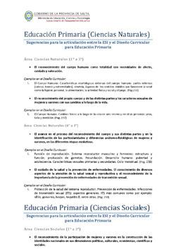 ESI - Educación Primaria