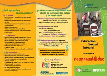 Educación Sexual Integral es nuestra responsabilidad (familias)