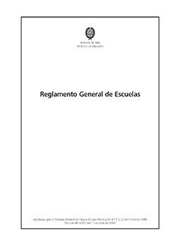 Reglamento General de Escuelas