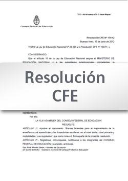 Resolución CFE Nº 340-18