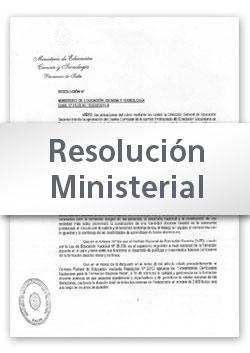 Reglamento para inscripción en Escuelas de Educación Secundaria y Educación Técnico Profesional